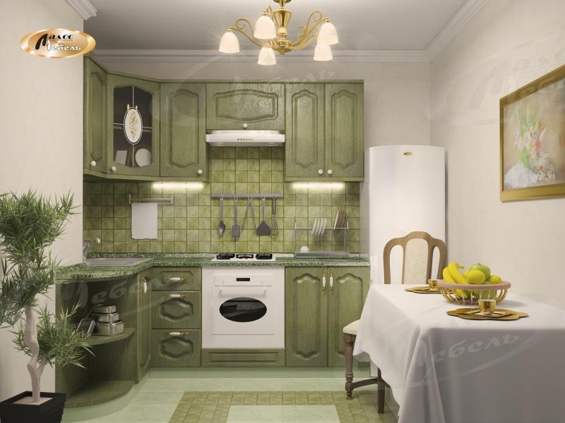 Кухня угловая «Леон Ретро»