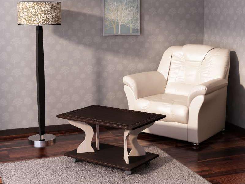 Столик с фрезеровкой