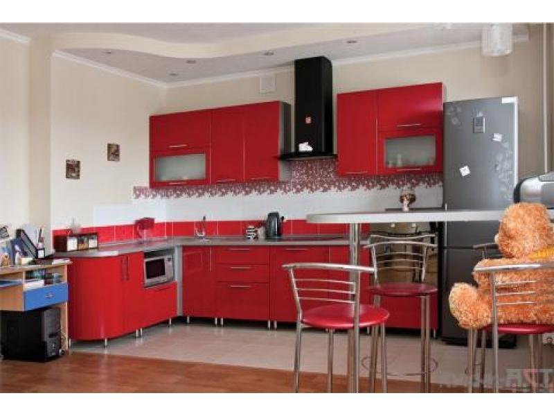Кухонный гарнитур угловой Спелая вишня