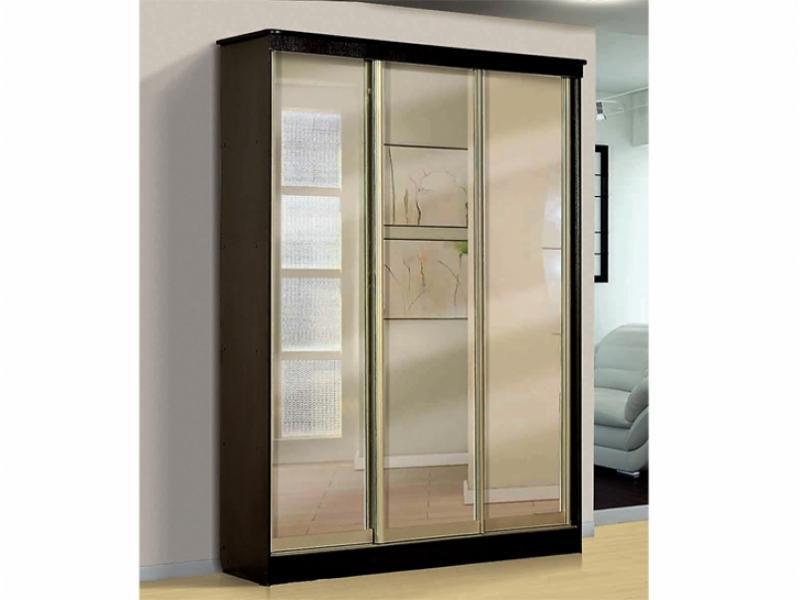 Шкаф – купе для платья и белья 3-х дверный с 3-мя ящиками