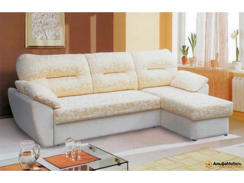 диван угловой Альфа 44 выкатной