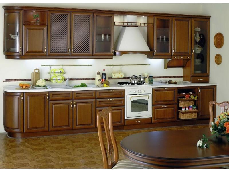 Кухонный гарнитур прямой Камила