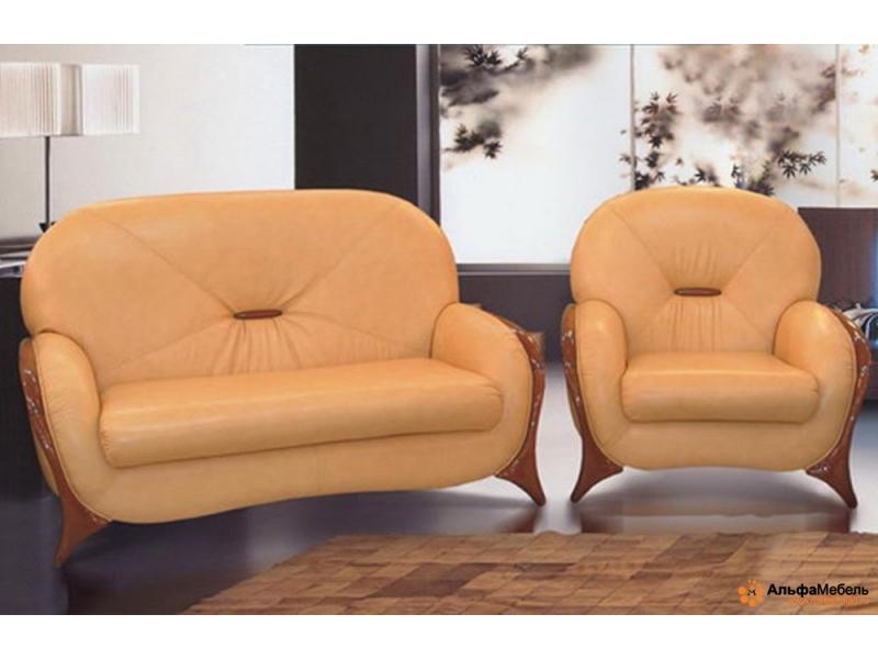 диван прямой Альфа 1 французская