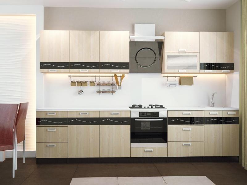 Кухонный гарнитур прямой Милена