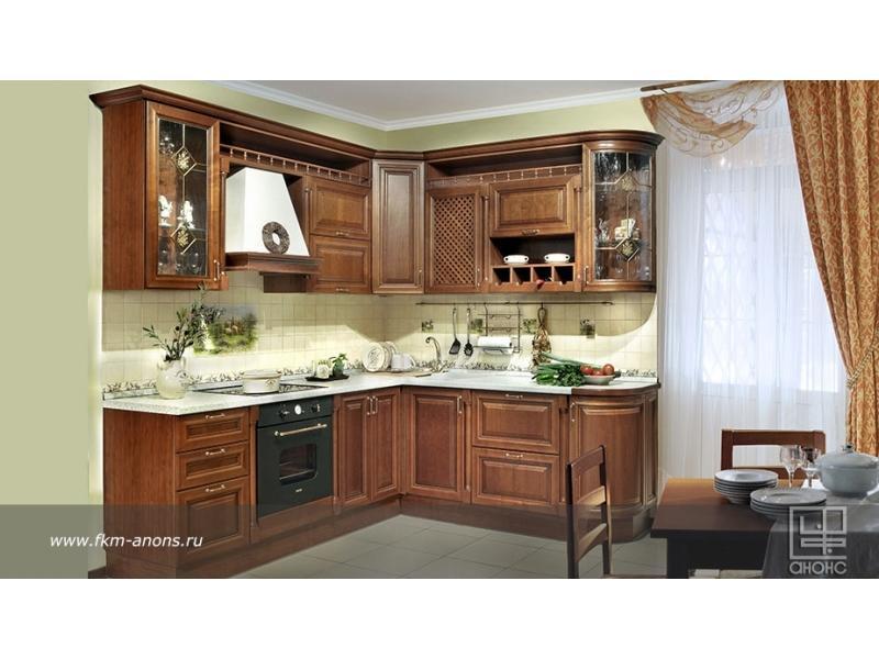 Кухня угловая «Зефира»