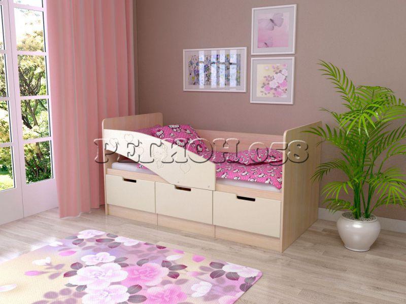 Детская кровать Бемби-7 МДФ