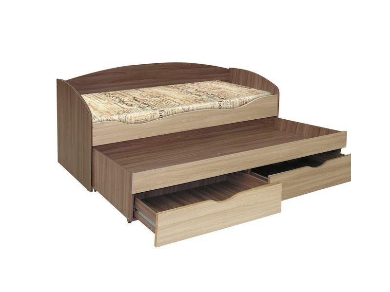 Детская кровать Твинс для двоих с ящиками