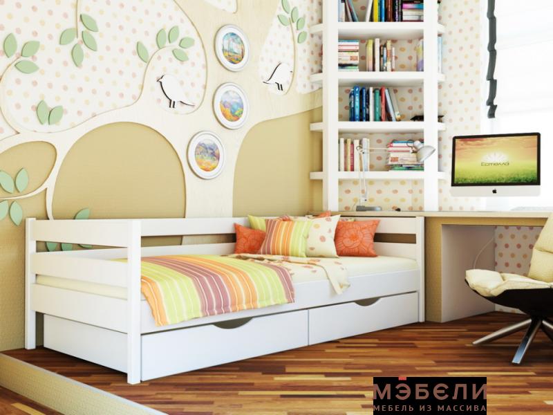 Детская кроватка Нота  с ящиками