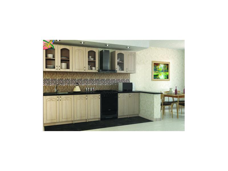 Кухонный гарнитур прямой Лючия