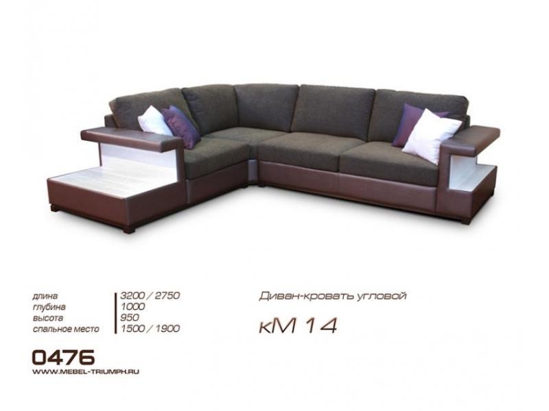 Угловой диван кМ14