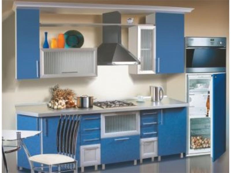 Кухонный гарнитур прямой Аквамарин