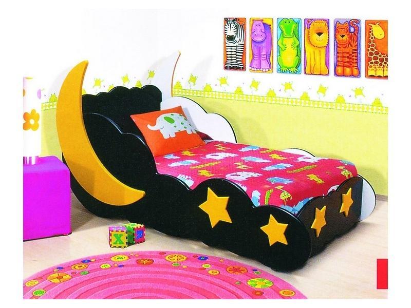 Кровать Месяц черная