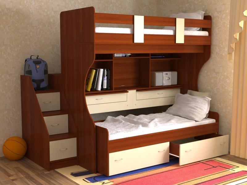 Кровать детская Дуэт