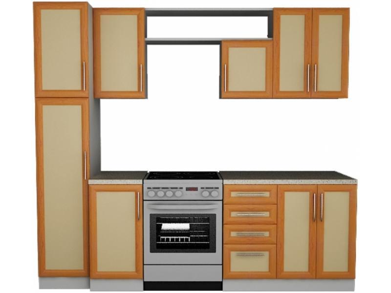 Кухонный гарнитур прямой Вера 3