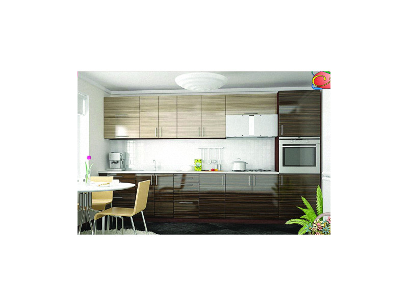 Кухонный гарнитур прямой Нео 4