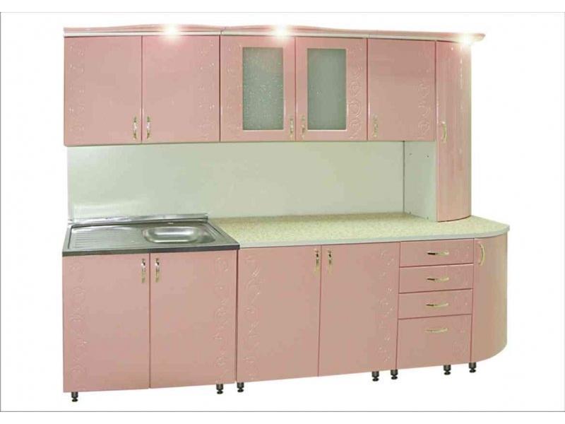 Кухня Сирень люкс