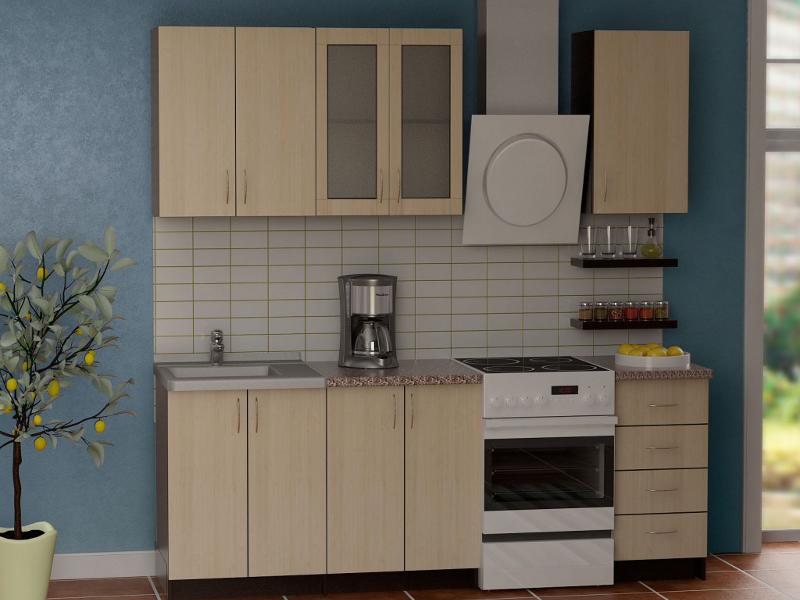 Кухонный гарнитур Гурман 3 (лдсп)