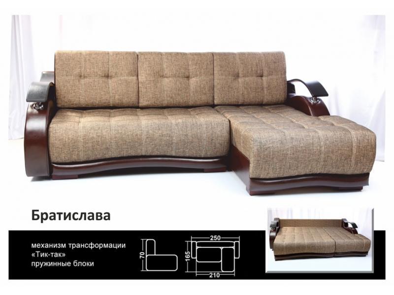 угловой диван тик-так Братислава