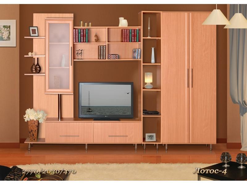 Гостиная стенка  Лотос-4