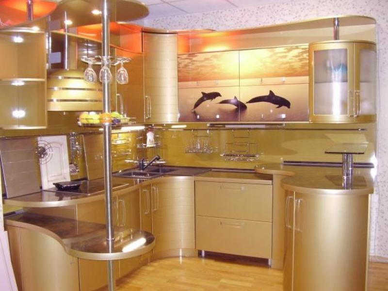 Кухонный гарнитур угловой Рио