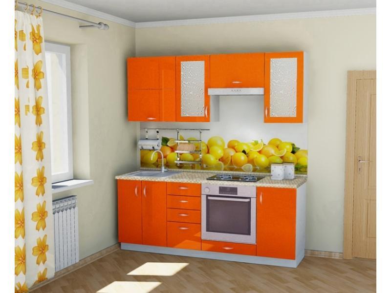 Кухонный гарнитур прямой Вега 4