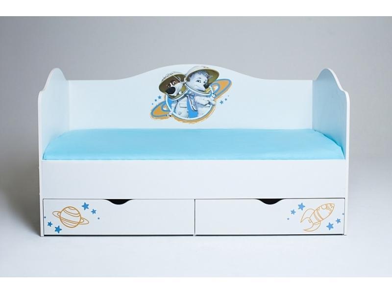 Детская кровать Белка и Стрелка