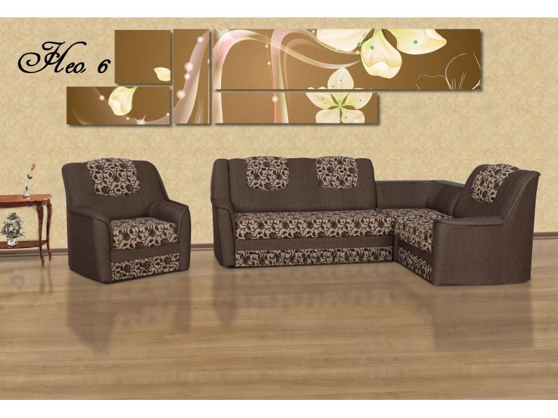 Угловой диван Нео 6 ДУ