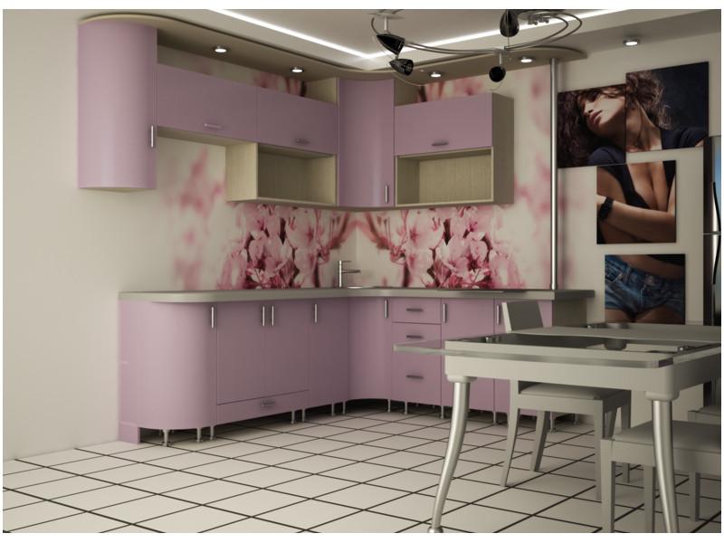 Кухня угловая МДФ Дорис