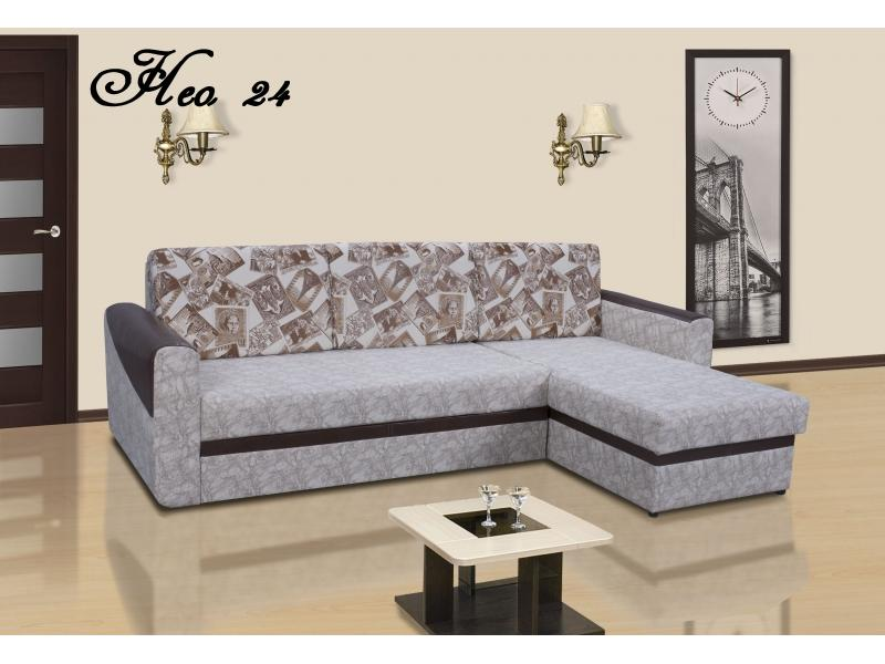 Угловой диван Нео 24 ДУ