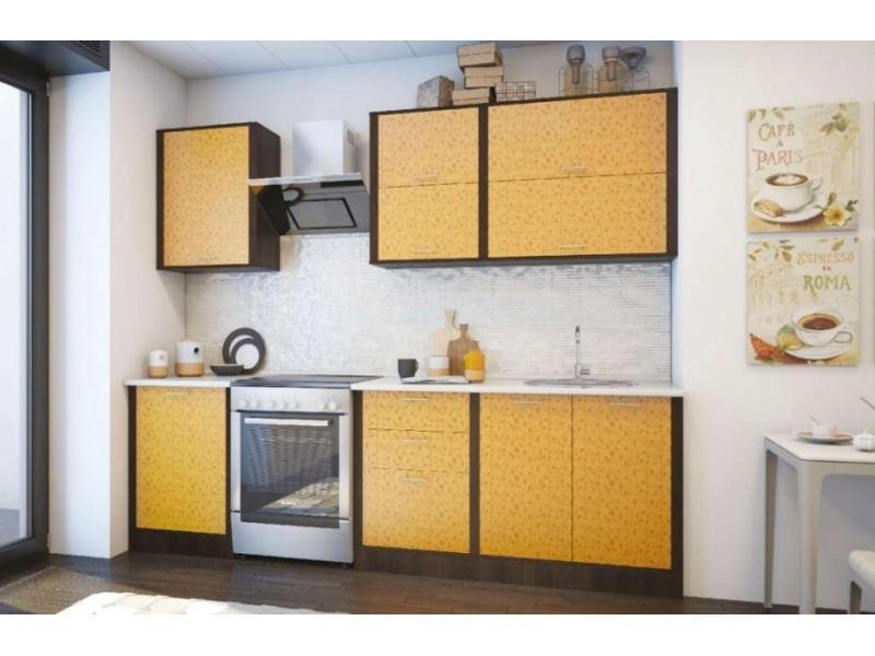 Небольшая кухня 2,4 м