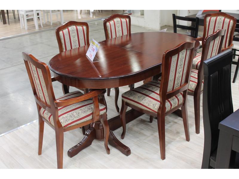 Мебельная выставка Москва: стол, стулья