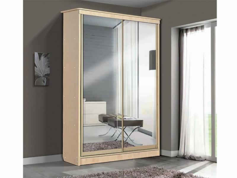 Шкаф – купе для платья и белья 2-х дверный с 3-мя ящиками