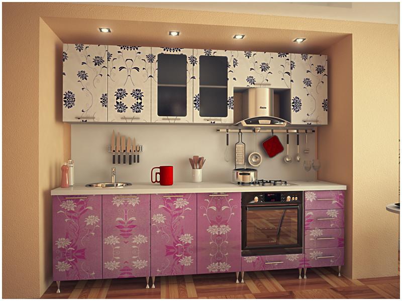 Кухня прямая МДФ Джейн
