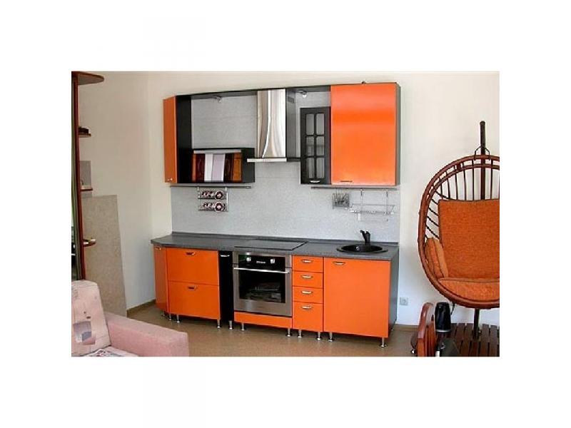 Кухонный гарнитур прямой пластик