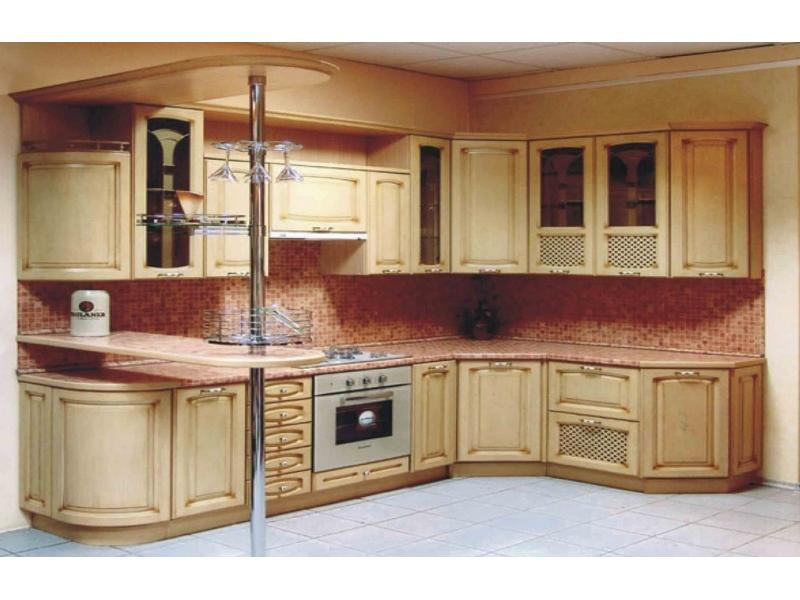 Кухня Эдель с патиной