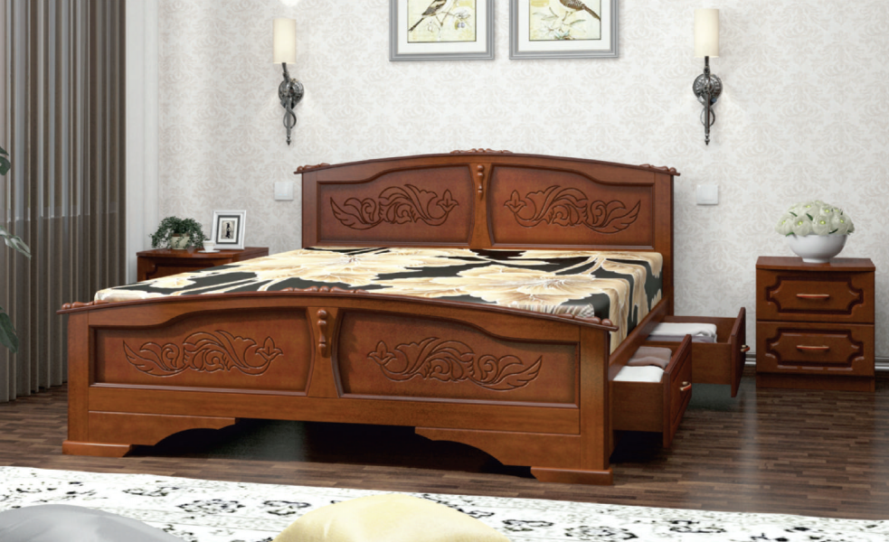 Кровать Елена с ящиками