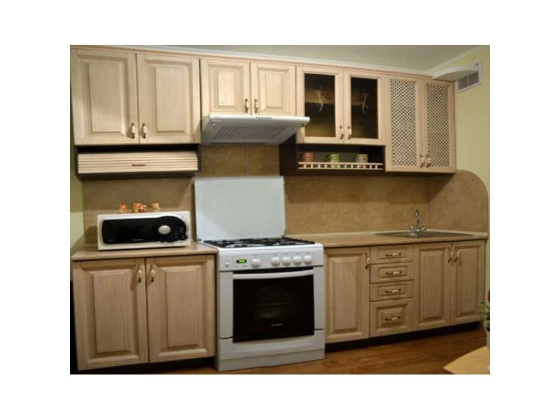 Кухня из дерева Светлана