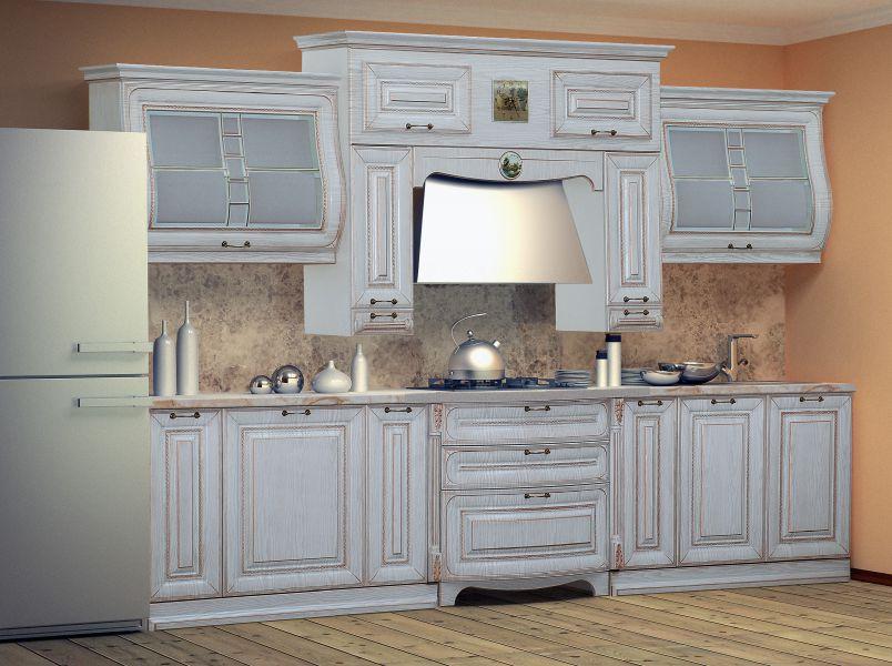 Кухня Сан-Марино белая 330