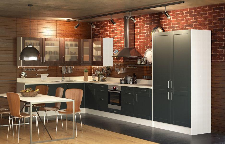 Кухня угловая Лофт