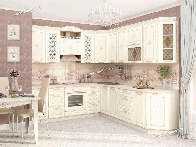 Кухонный гарнитур угловой Милана 18