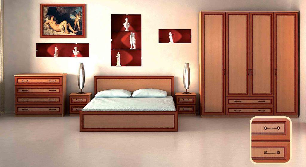 Набор мебели для спальни Анжелика-11