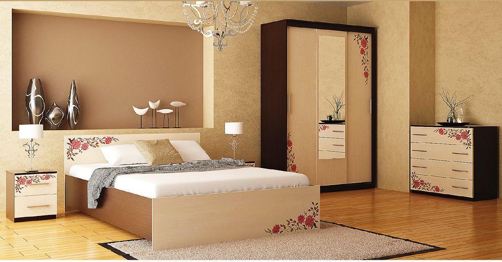 Набор мебели для спальни Анжелика-12