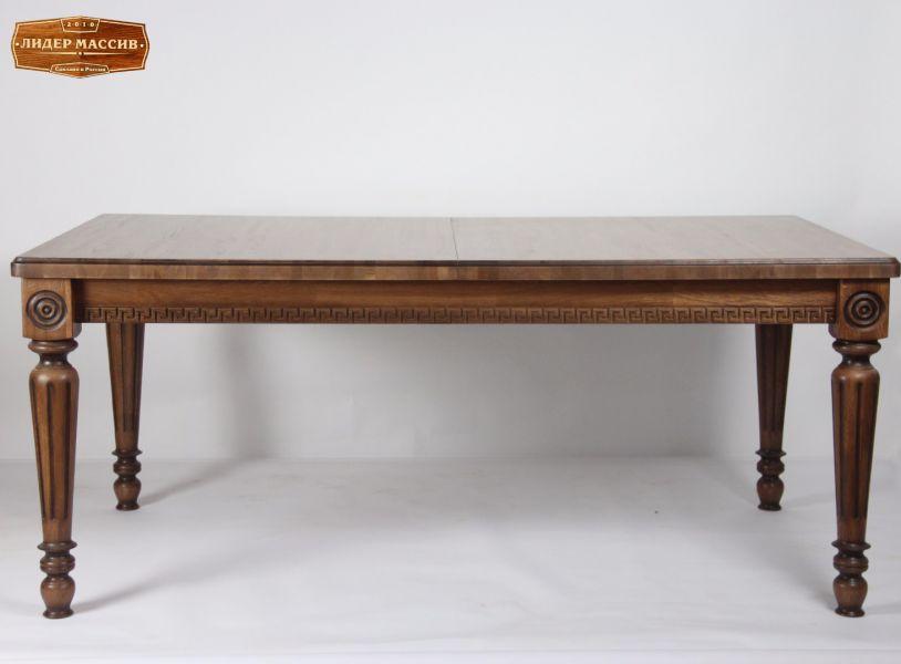 Обеденный стол Миандр из массива дуба