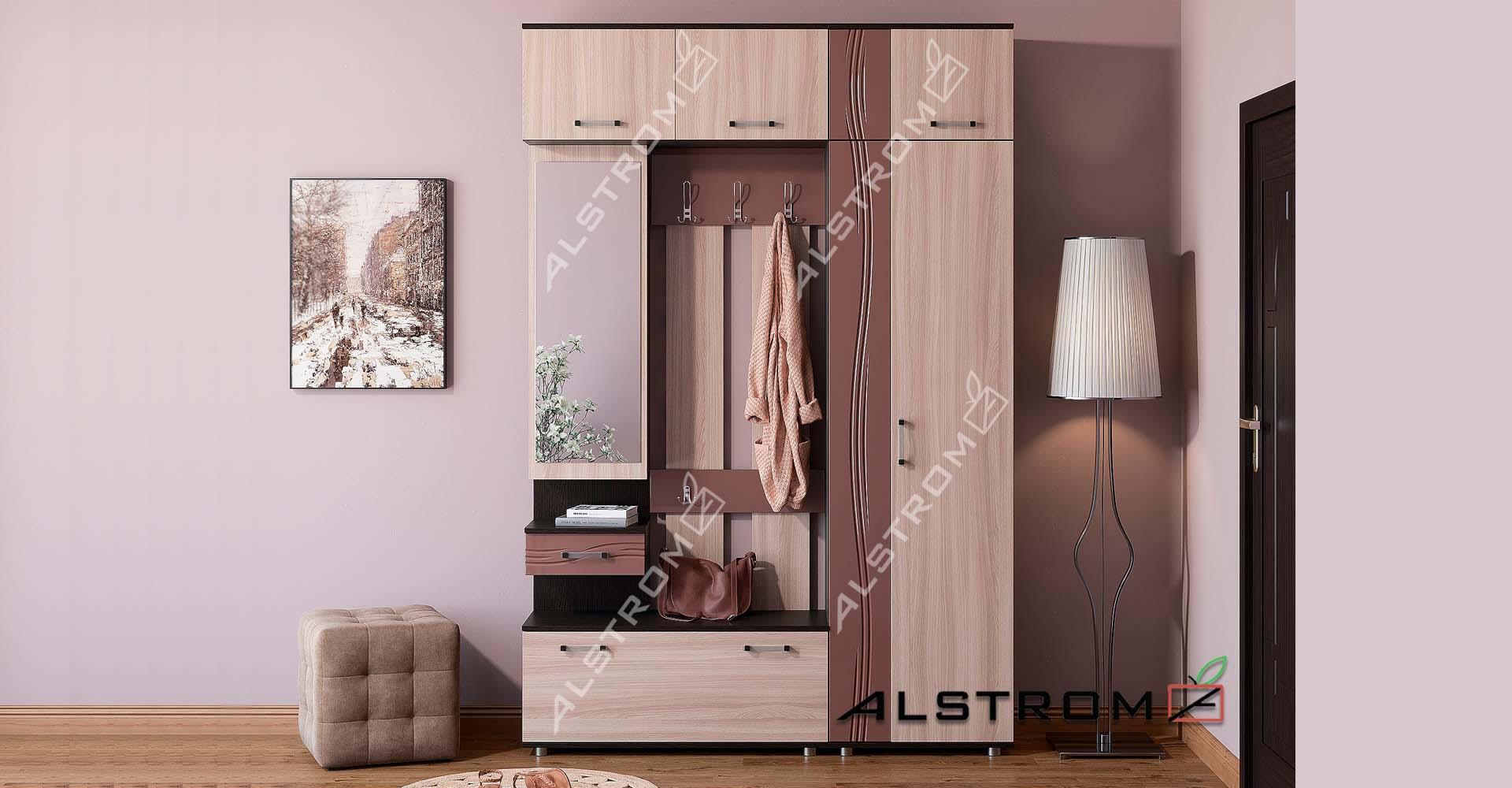 cd112eacc383 Мебельная фабрика «Алстром», г. Иваново / Прихожая Шарлотта