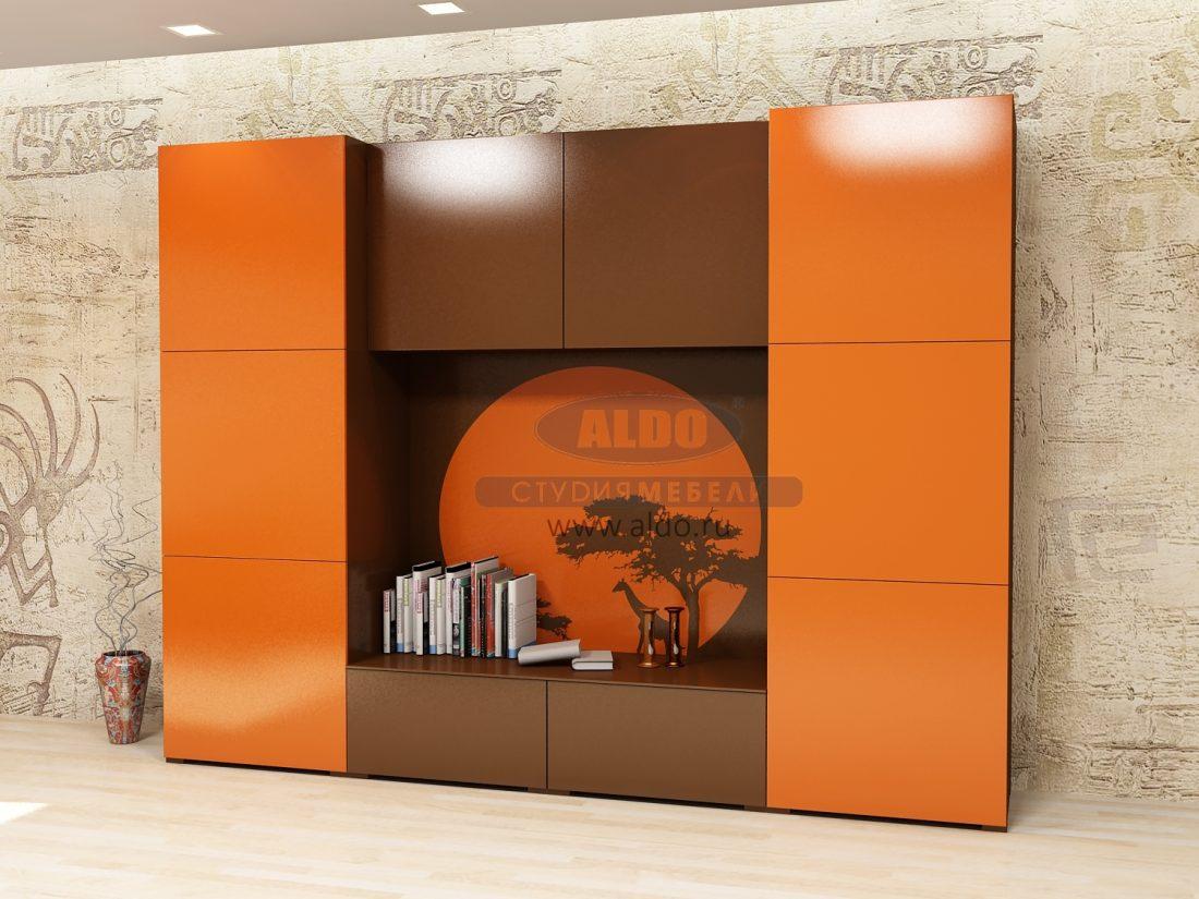 cb73f5ec7 Мебельная фабрика «ALDO», г. Домодедово / Стенка для гостиной эмаль ...