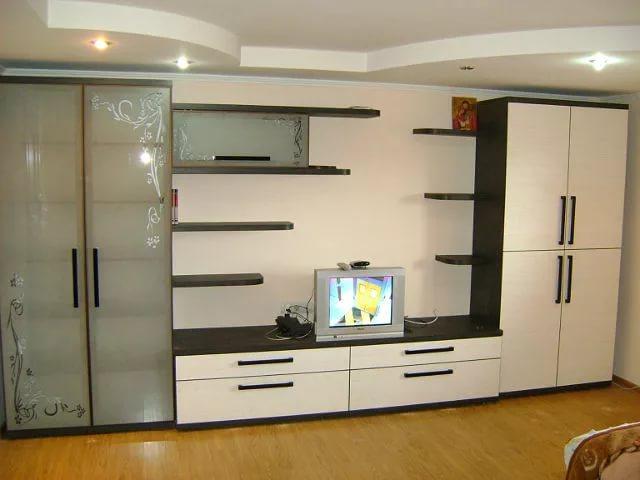 """Мебельная фабрика """"santana"""", г. москва / стенка в гостиную."""
