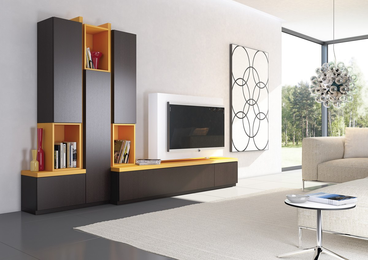 Nika premium for Foto mobili soggiorno moderni