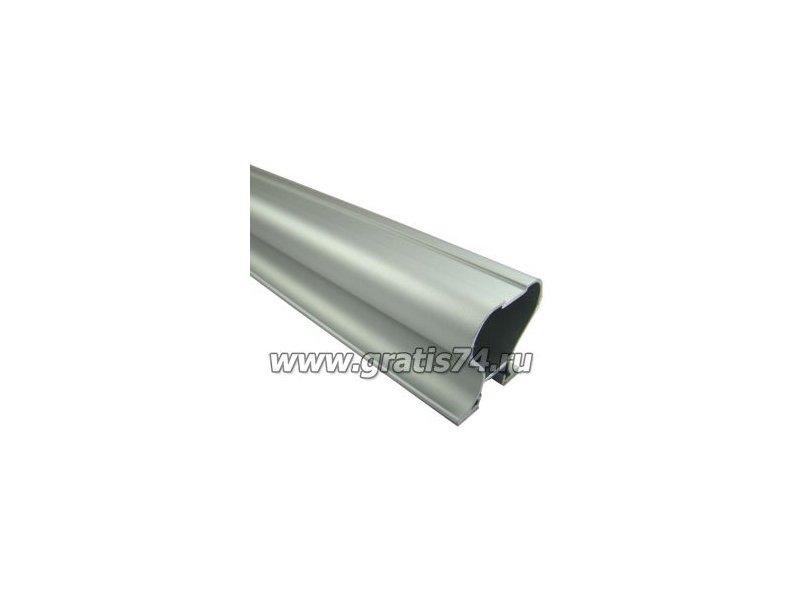 Профиль вертикальный закрытый серебро 3878