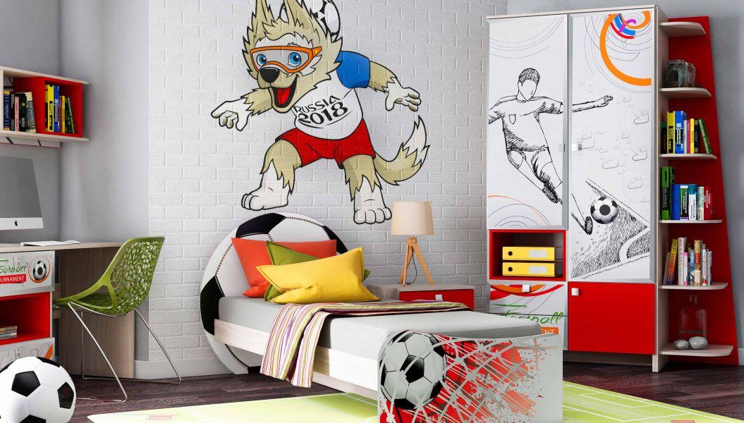 Спальня для мальчика Футбол 2