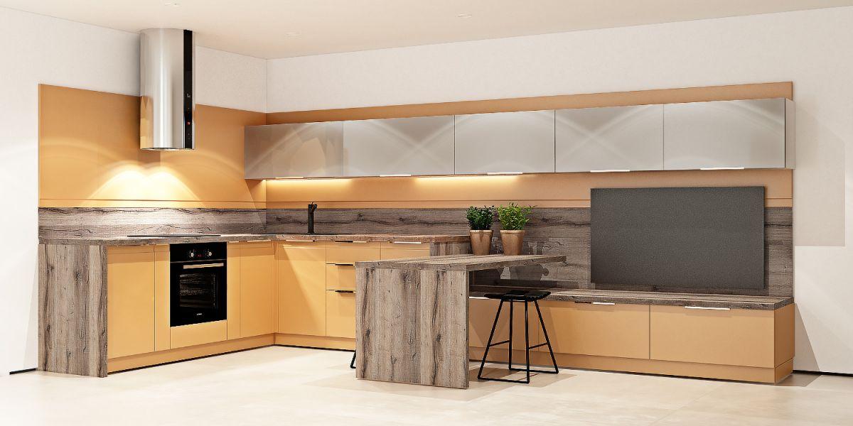 Стильная мебель для кухни и гостиной